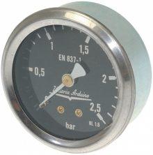 Nyomásmérő óra  ø 62 mm 0÷2.5 bar