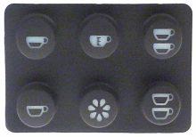 6 gombos panel