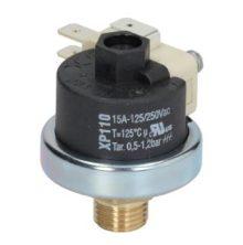Nyomáskapcsoló  XP110 125 0.5-1.2 BAR 1/