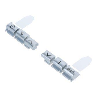 Krómozott gombok Siemens EQ.7