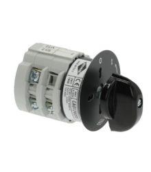Kiválasztó kapcsoló 0-1 pozíció 12A 400V