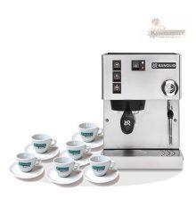 Rancilio Silvia V5 E kávégép + 6 csésze