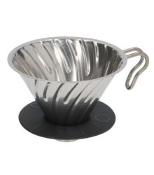 COFFEE DRIPPER OF STEEL HARIO 1-4 CUPS
