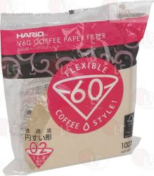 PACK 100 FILTERS HARIO 1-4 CUPS