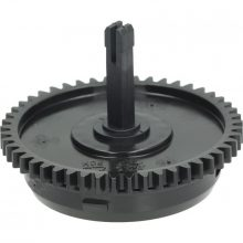 GEAR MOTOR CAM FOR DOUBLE SPIRAL-SHAPED