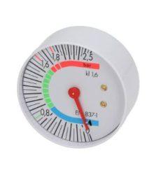 Kazán nyomásmérő ø 57 mm 0÷2.5 bar
