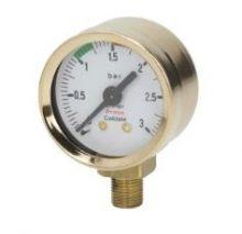 Kazán nyomás mérő ø 42 mm 0÷3 bar