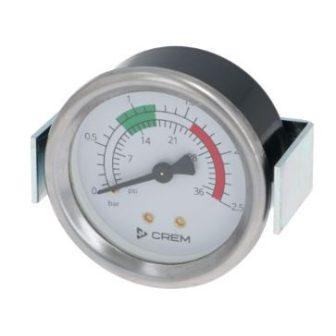 Kazán nyomásmérő ø 60 mm 0÷2.5 bar