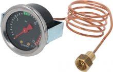 Kazán nyomásmérő  ø 49 mm 0÷15 bar