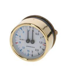 Kazán szivattyú nyomásmérő ø 60 mm