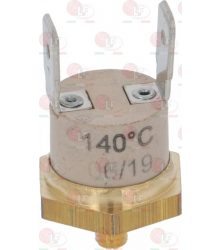 CONTACT THERMOSTAT 140°C M4 16A 250V