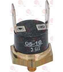 CONTACT THERMOSTAT 115°C M4 16A 250V