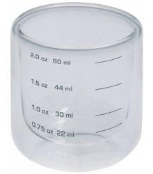 mércés pohár dupla falú 22/60 ml