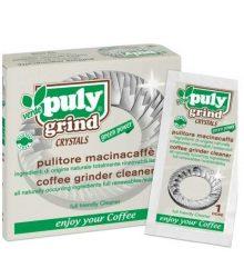 Puly Grind kávédaráló zöld tisztító kristály 10 tasak/doboz