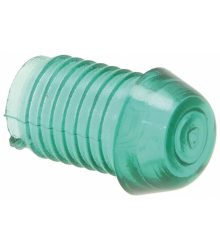 LAMP CAP TAPERED CONICAL GREEN SU3