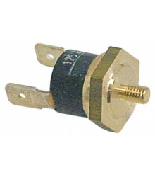 Kontakt termosztát 125°C M4
