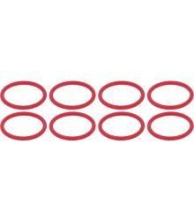 Tömítés szett OR 140 szilikon piros 8db