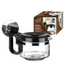 Üvegkanna Wpro 484000000317 UCF100 Kávéskanna Universal 12-15 csésze szűrő kávéfőzőhöz