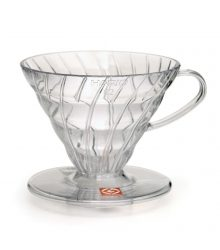 COFFEE DRIPPER OF PLASTIC HARIO 1-2 CUPS