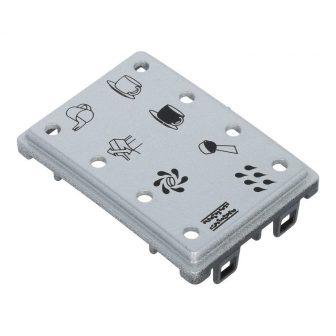 LED panel (nyomtatott ezüst) E-sorozat