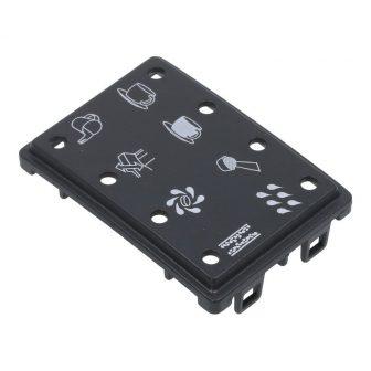 LED panel (nyomtatott, fekete) E-sorozat