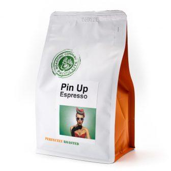 'Pin Up' pörkölt szemes kávé (250 g.)