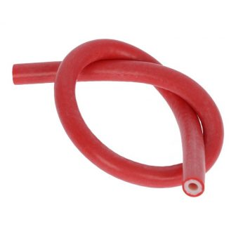 Szilikoncső piros 255mm